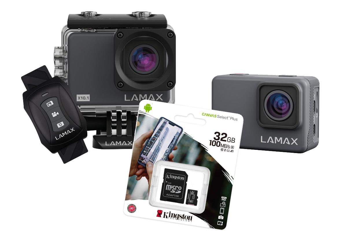LAMAX X10.1 – Uchwyć swoje życie w najwyższej jakości